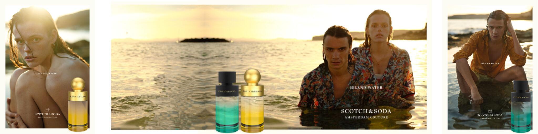 Scotch & Soda Island Water